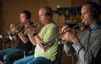 Chris Still, Jon Lewis and Tom Hooten play trumpet on <em>The Dark Tower</em>