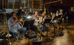 The brass section records a cue for <i>The Fate of the Furious</i>