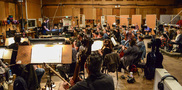 Composer/conductor Brian Tyler and the Hollywood Studio Symphony