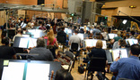 Composer Rob Simonsen conducts the Hollywood Studio Symphony