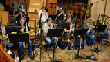 The brass section performs Rob Simonsen's score for <i>Going in Style</i>