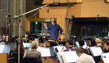 Conductor Mark Graham relays feedback to the orchestra