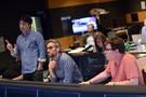 Director Zach Braff, composer Rob Simonsen, and scoring mixer Alan Meyerson