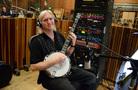 George Doering performs on banjo