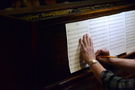 Pianist Randy Kerber makes edits to his part