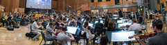The Hollywood Studio Symphony performs on <em>Halo Wars 2: Awakening the Nightmare</em>