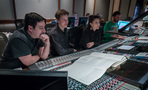 Daniel Chan, Nathan Blume and Sherri Chung, and scoring mixer Greg Hayes