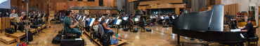 The orchestra records composer Bruce Broughton's score for creator Seth MacFarlane's <i>The Orville</i>