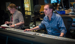 Orchestrator Dave Slonaker and scoring mixer Richard Breen