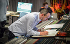 Composer Geoff Zanelli makes some edits to his score