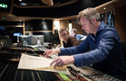 Composer Stephen Baysted (left), Engineer Jake Jackson (right)