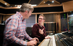 Composer Stephen Baysted (left) and Engineer Jake Jackson (right)