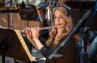 Flutist Sara Andon