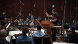 Conductor James Sale performs with the Hollywood Studio Symphony