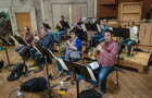 The French horns perform on <em>The Darkest Minds</em>