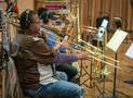 The trombones on <em>The Darkest Minds</em>