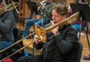 Steve Holtman performs trombone on <em>The Darkest Minds</em>