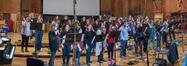 The choir performs on <i>Deadpool 2</i>