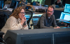 Fox Music executive Rebecca Morellato and scoring mixer Gustavo Borner