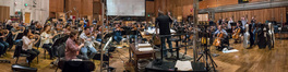Conductor/orchestrator Tim Williams records with the Hollywood Studio Symphony
