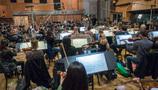 The Hollywood Studio Symphony records a cue for <i>Deadpool 2</i> with conductor/orchestrator Tim Williams