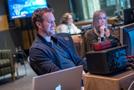 Mixer/engineer Nick Baxter and score production coordinator Joanne Higginbottom