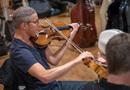 Matt Funes performs on viola