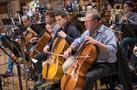 Cellists Dennis Karmazyn, Eric Byers, Charlie Tyler, and Steve Erdody
