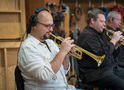 Trumpet players Dan Rosenboom and Rob Schaer