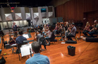 Blake Neely conducts on the score to <em>Deception</em>