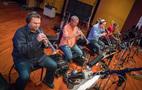 The trumpets and brass perform on <em>Deception</em>