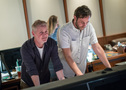 Co-composer Blake Neely and scoring mixer Greg Hayes