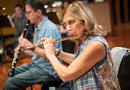 Geri Rotella on flute