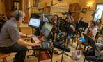 Composer Jeff Beal prepares to record the final episode of <em>House of Cards</em>