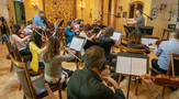 Strings perform on the final score to <em>House of Cards</em>