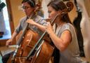 The cellos on <em>House of Cards</em>
