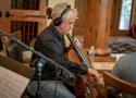 Cellist David Low