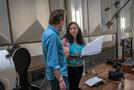 Composer Nathan Barr and lead orchestrator Penka Kouneva discuss a cue