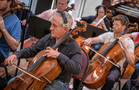 Orchestra contractor and cellist David Low
