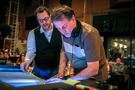 Composer Michael Giacchino discusses the end credits with conductor/arranger Gordon Goodwin