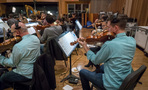 The violins perform on a cue for <i>Maze Runner: The Death Cure</i>