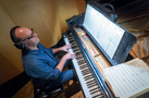 Pianist Randy Kerber performs