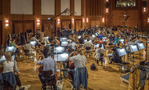 The orchestra performs on Harry Gregson-Williams' score to <em>The Meg</em>