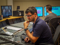Scoring engineer Bernd Mazagg and ProTools operator Martin Weismayr