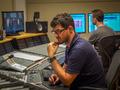 Scoring engineer Bernd Mazagg and ProTools operator Martin Weismayr