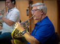 Dave Everson performs on French horn