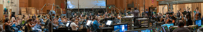 Conductor Gavin Greenaway and the Hollywood Studio Symphony perform composer Henry Jackman's score for <i>The Predator</i>