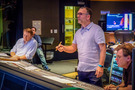 Orchestrator Stephen Coleman, composer Henry Jackman and scoring mixer Alan Meyerson