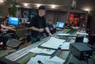 Composer Andrew Lockington, scoring mixer Andrew Dudman, and stage recordist Keith Ukrisna