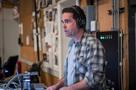 Stage engineer Greg Dennen